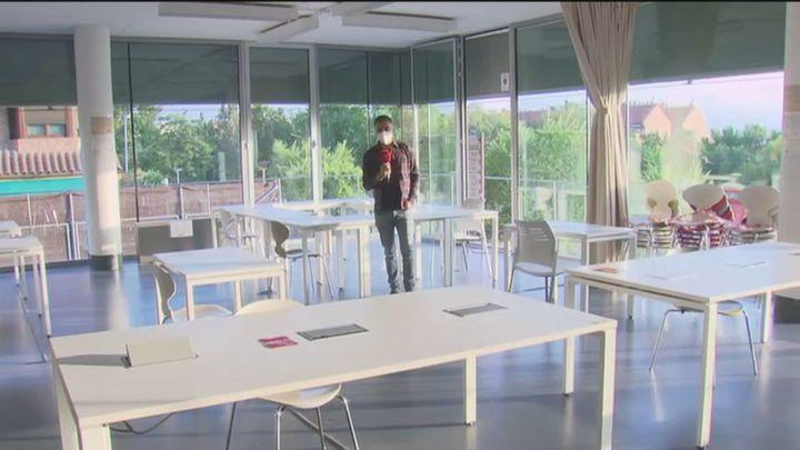 Mucho tiempo de espera en las bibliotecas de Madrid para estudiar de cara a la EvAU