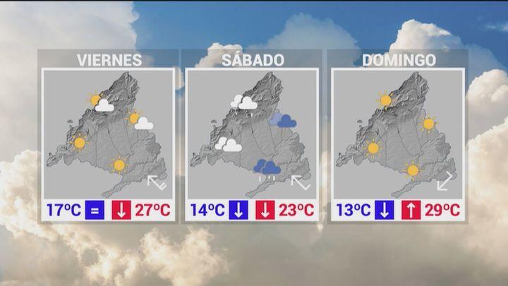 Las lluvias fuertes vuelven a Madrid