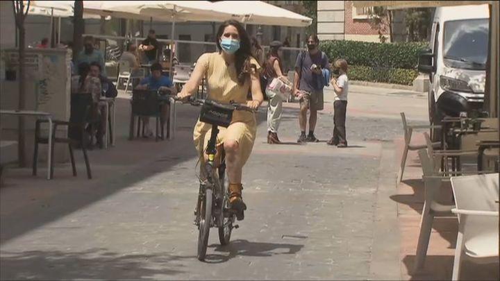 Madrid cuenta con 130 kilómetros de carriles bici exclusivos para ciclistas