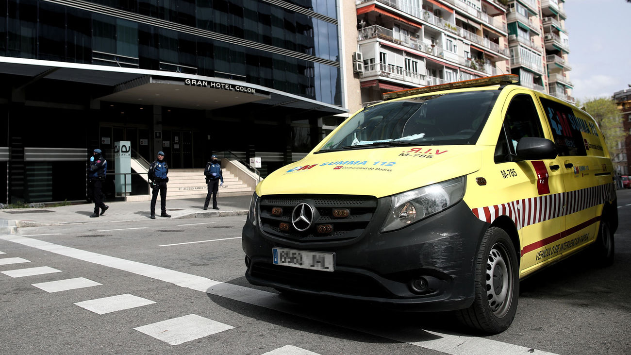 Un total de4.517 personas han sido tratadas de covid en hoteles medicalizados en Madrid