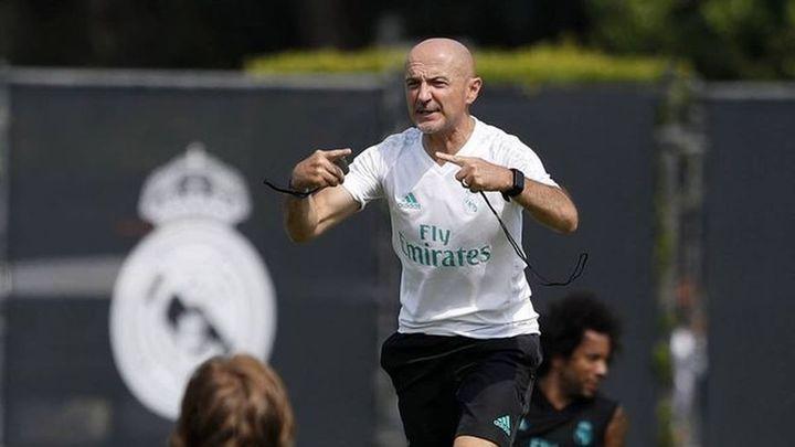 Pintus retoma la preparación física del Real Madrid