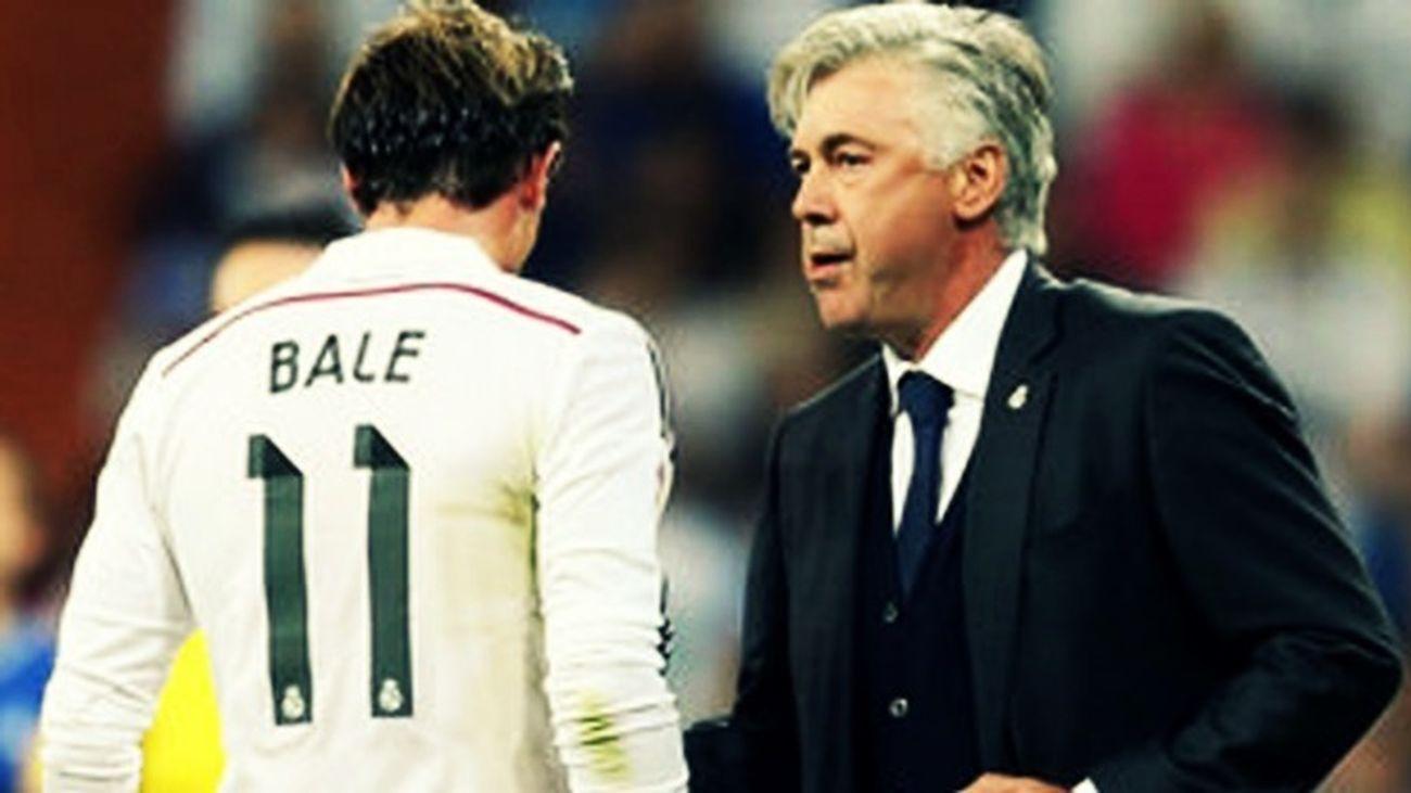 """Bale hablará tras la Eurocopa con Ancelotti, a quien llama """"gran entrenador"""""""