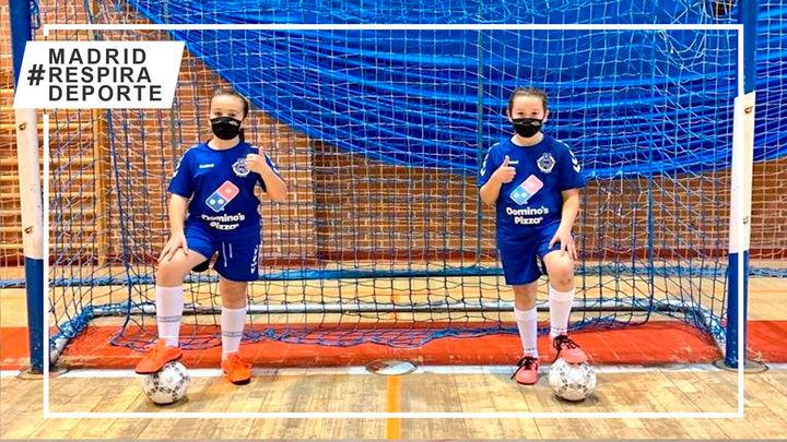 El FSF Móstoles invita a las niñas a iniciarse en el fútbol sala