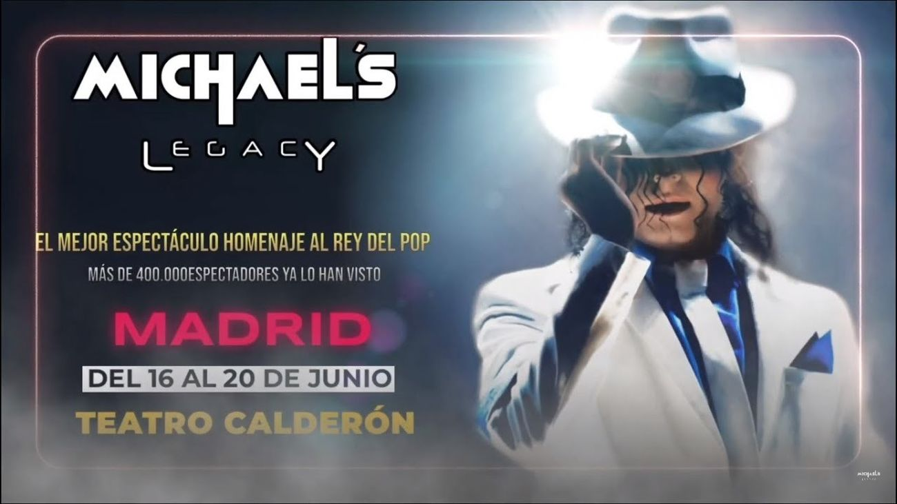 'Michael´s Legacy', oda al Rey del Pop en el Teatro Calderón