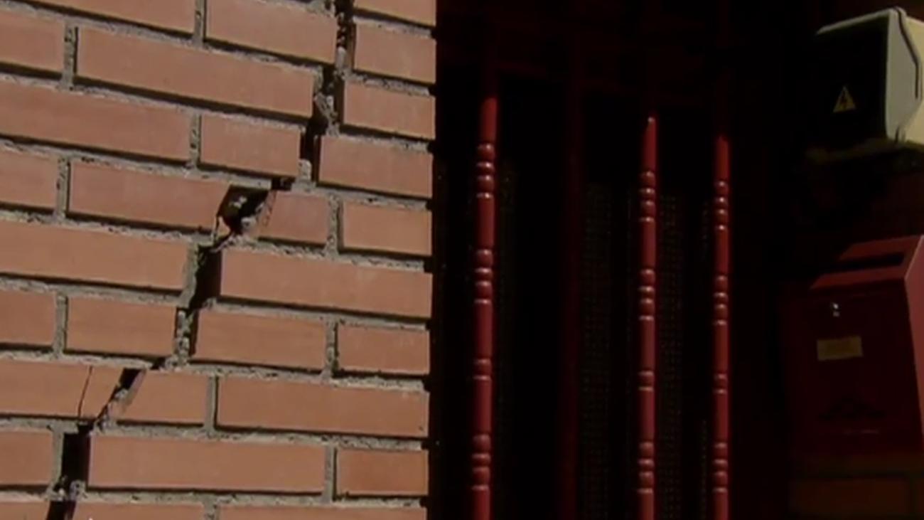 San Fernando reclama soluciones urgentes a los edificios afectados por las obras de Metro de Madrid