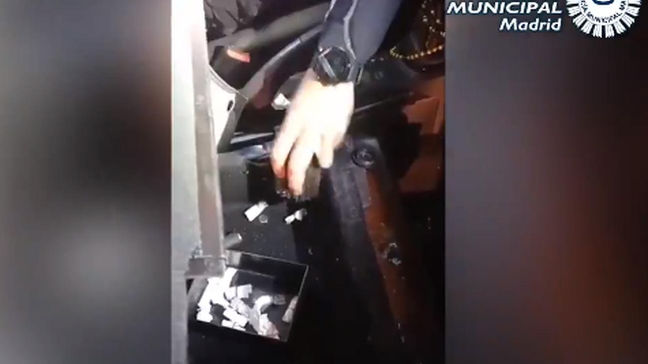 La Policía Municipal de Madrid encontró la droga en el coche
