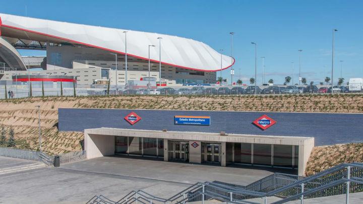 La L7 de Metro dobla su servicio este viernes de  18 a 23 horas por el amistoso España y Portugal en el Wanda