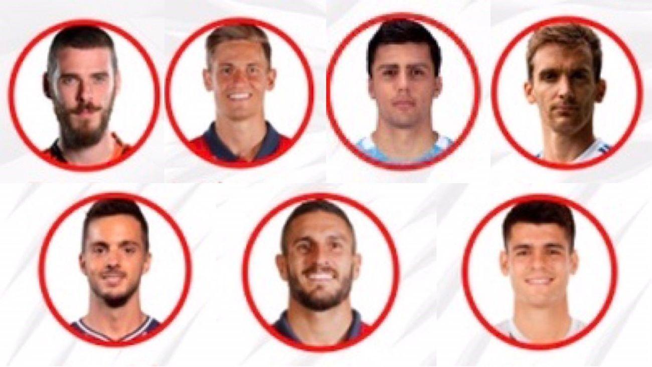 Madrileños, en la Selección española