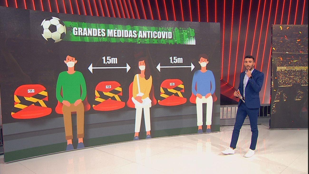 Analizamos con la investigadora Isabel Sola la vuelta del público al Wanda Metropolitano