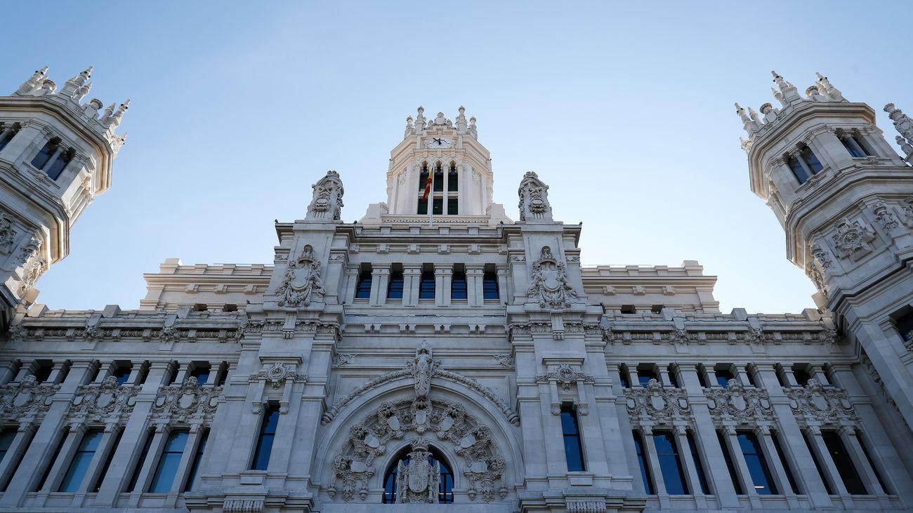 El edificio del Palacio de Cibeles