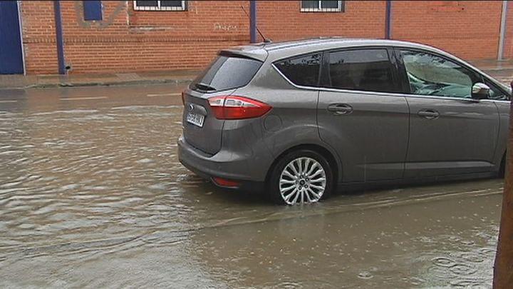Inundaciones en Tomelloso tras una tromba de agua de tres horas