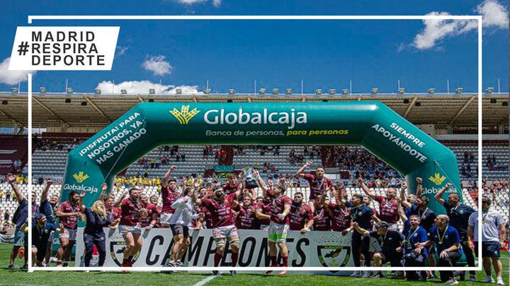 Alcobendas Rugby conquista su tercera Copa consecutiva tras arrollar al Burgos