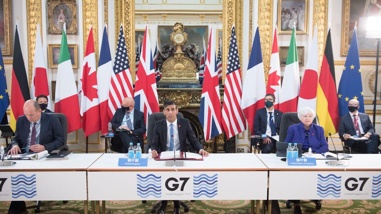 Acuerdo histórico del G7  para que las grandes multinacionales tributen al menos un 15%