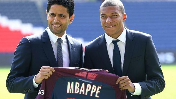 """Al Khelaifi: """"Mbappé se va a quedar en París, nunca lo vamos a vender y nunca se irá gratis"""""""