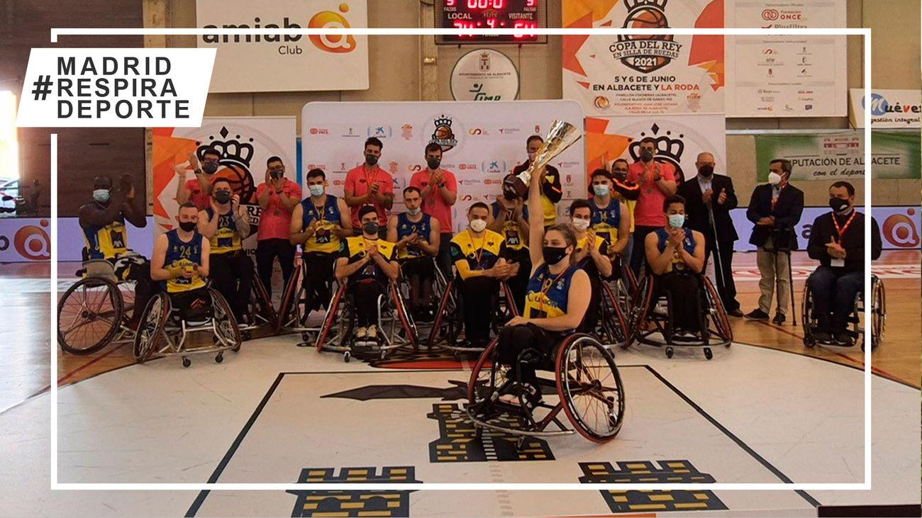 CD Ilunion, tercero en la Copa del Rey de baloncesto en silla de ruedas