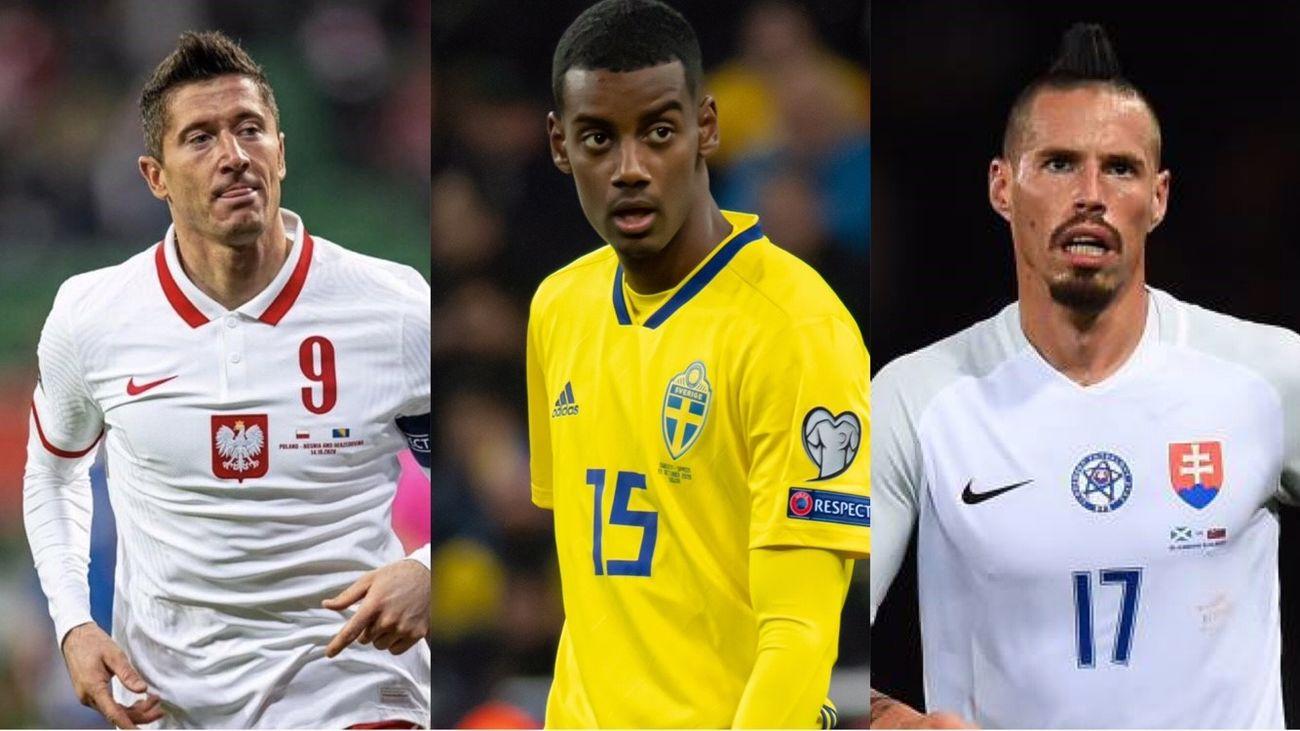 Polonia, Suecia y Eslovaquia