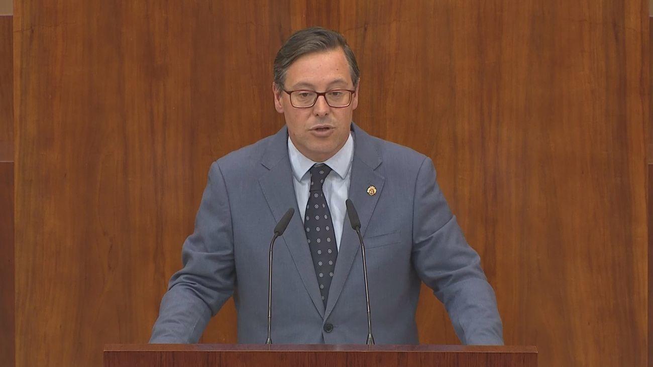 Alfonso Serrano, portavoz del Grupo Popular de la Asamblea de Madrid
