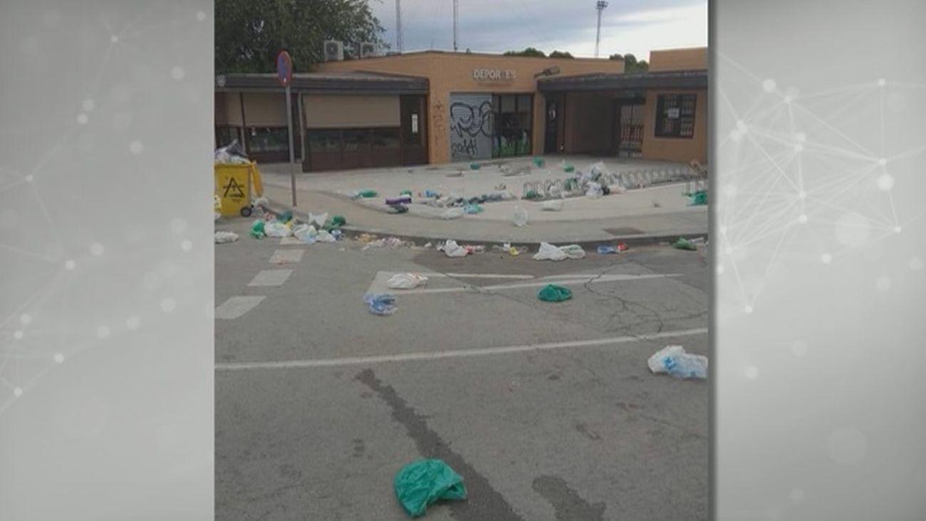 """Los vecinos de Valdemoro denuncian el mal estado de la localidad: """"Estamos indignados"""""""