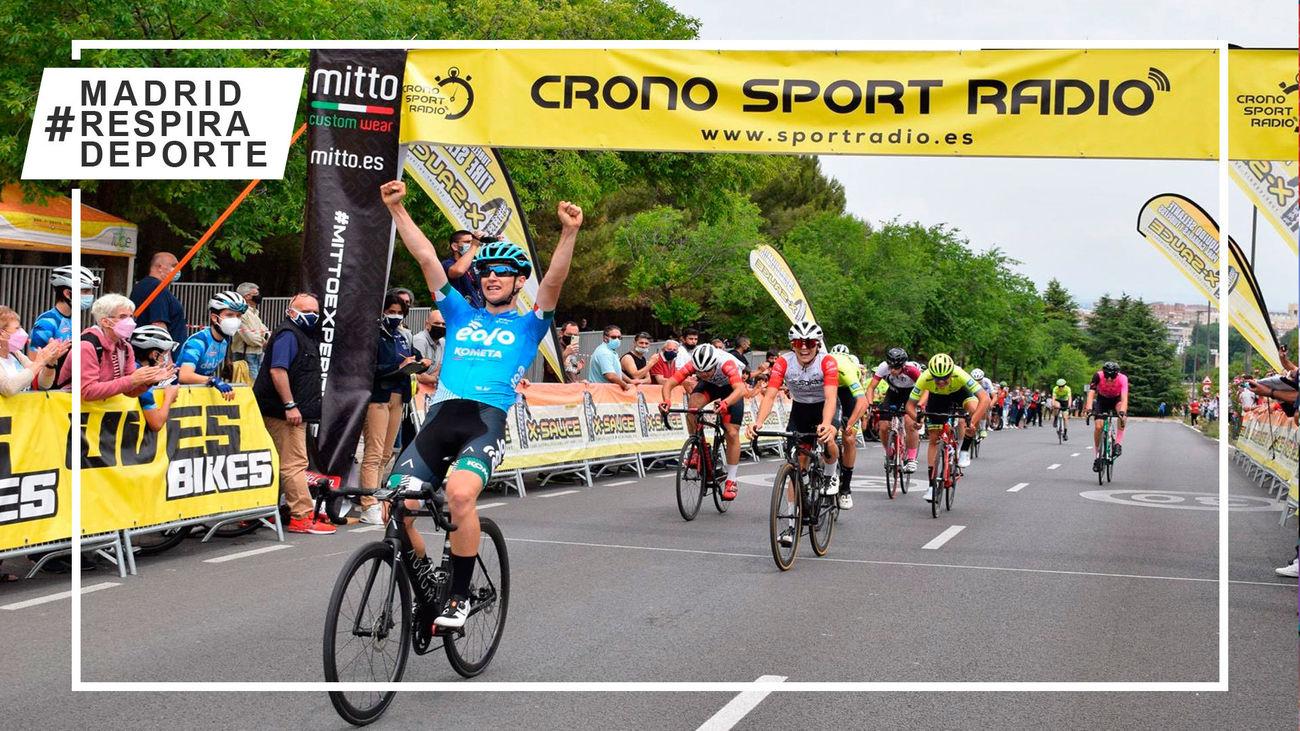 Más de 500 ciclistas en el GP Villa de Coslada