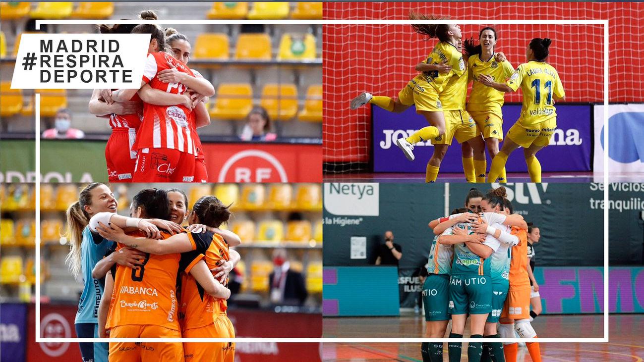 Playoff femenino de fútbol salas