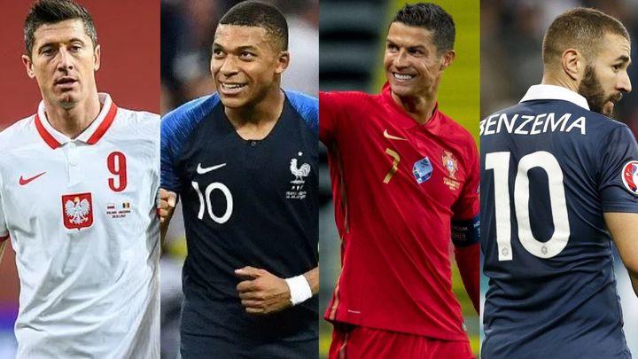 Los cracks de la Eurocopa