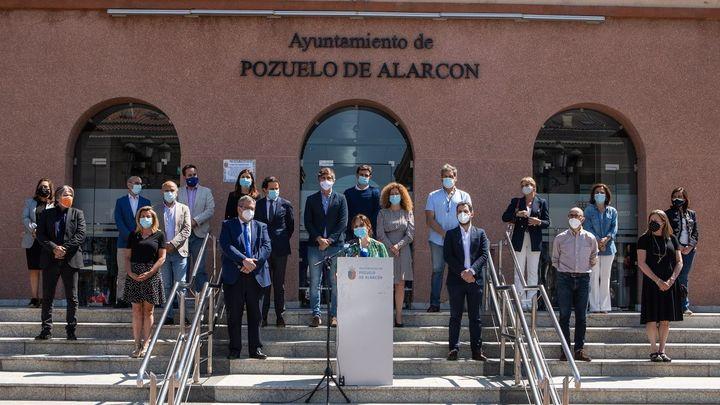 Madrid y Pozuelo guardan un minuto de silencio por la última víctima de violencia machista
