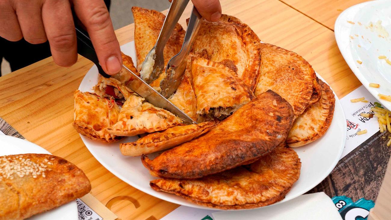Plato de empanadillas