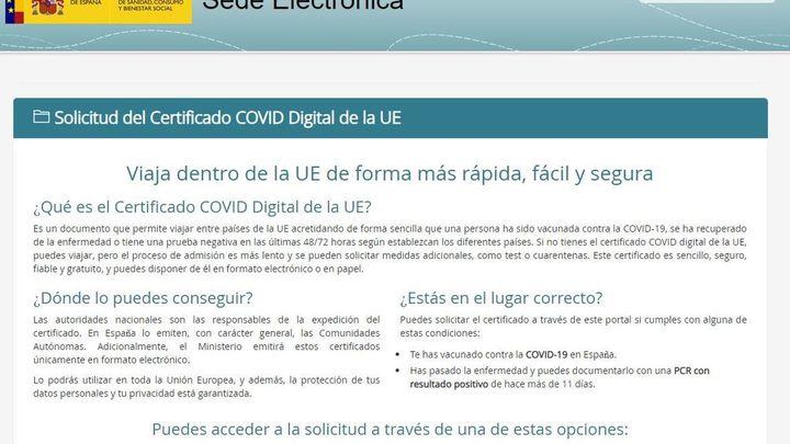 Qué hacer si eres de Madrid y quieres conseguir ya el Pasaporte Covid