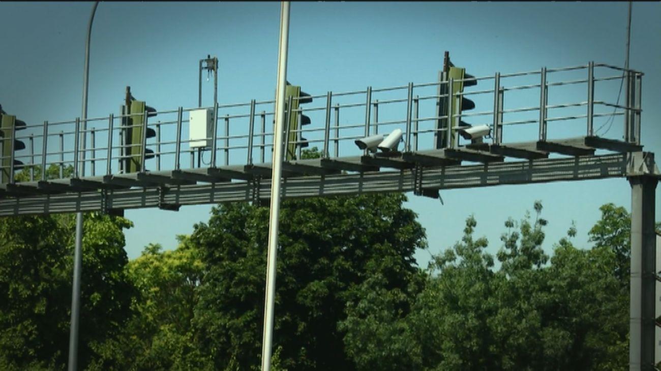 El radar que más multa en Madrid está en el kilómetro 19 de la M-30