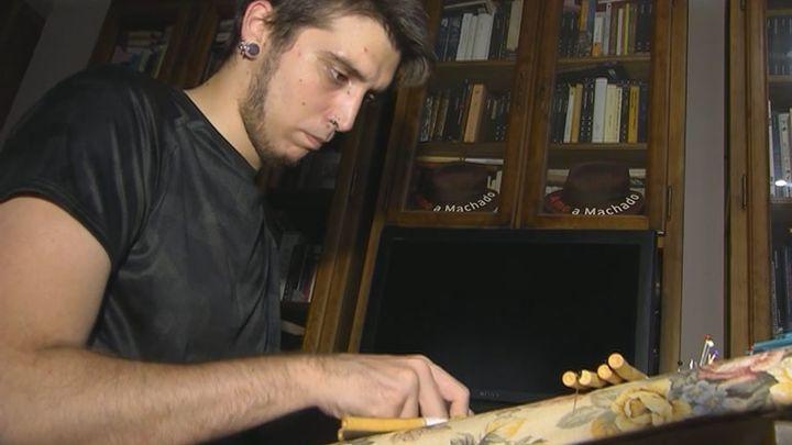 Luís, el joven bolillero-metalero de Madrid