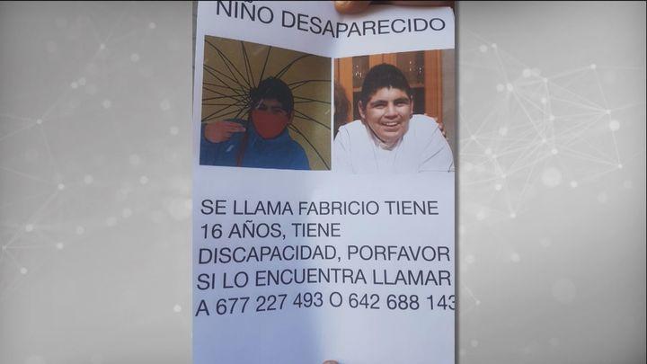 Aparece en Pinto el menor con discapacidad que se escapó en las cercanías del Hospital  Niño Jesús