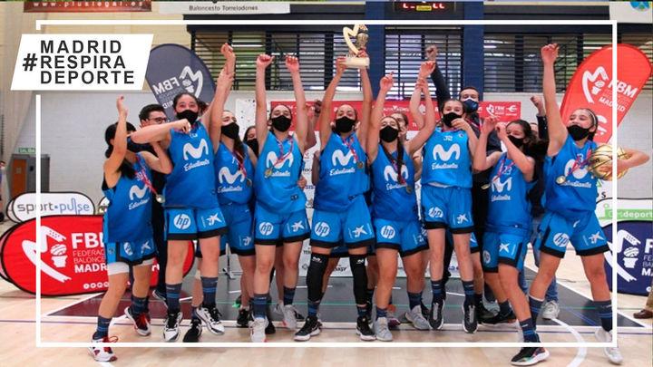 Estudiantes, campeón de Madrid infantil femenino