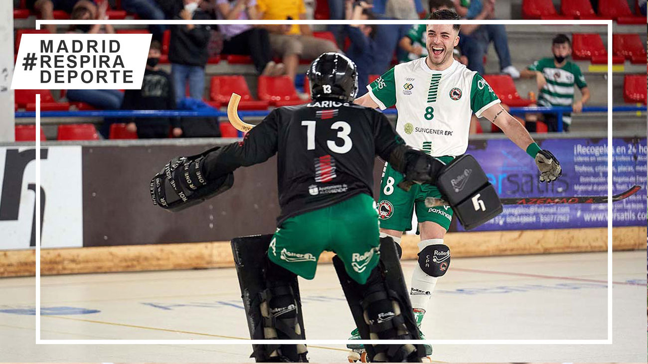 Patín Alcobendas, a un partido de jugar en la OK Liga de hockey patines