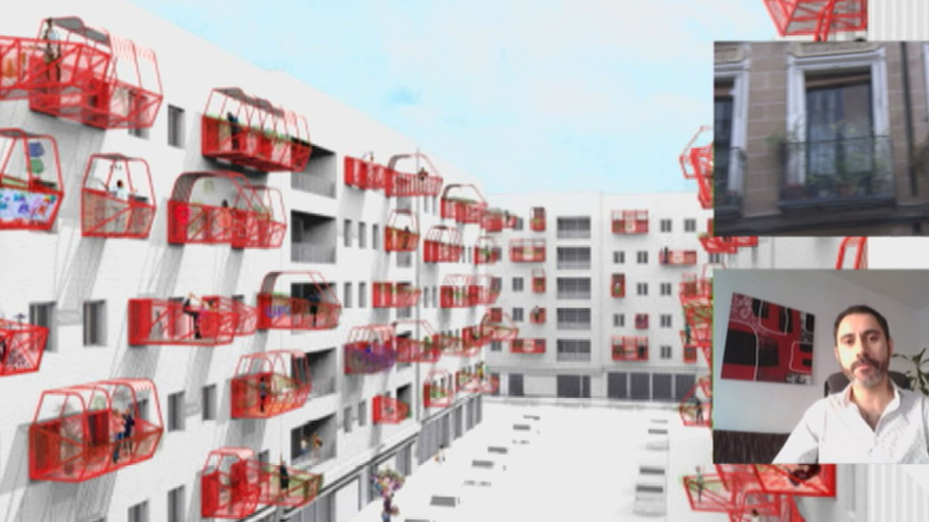 ¿Sin terraza en Madrid? Un arquitecto da una solución rápida... si le dan permiso