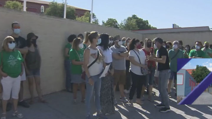 Padres de Rivas protestan porque sus hijos de apenas 12 años tienen que ir a un instituto a más de 8 Km
