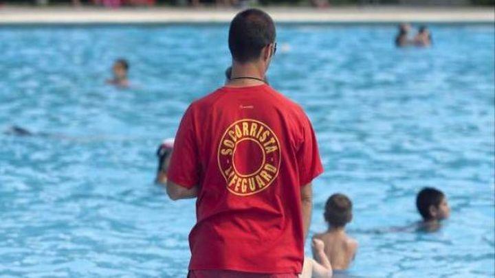 Los vigilantes de piscinas de Madrid reclaman presencia policial y multas contra los vándalos