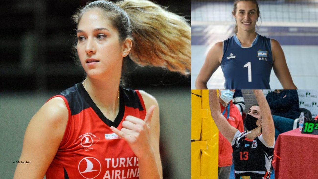 Ceylan Arisan, Priscila Bosio y Paula Morales, refuerzos de lujo para el Voleibol Alcobendas