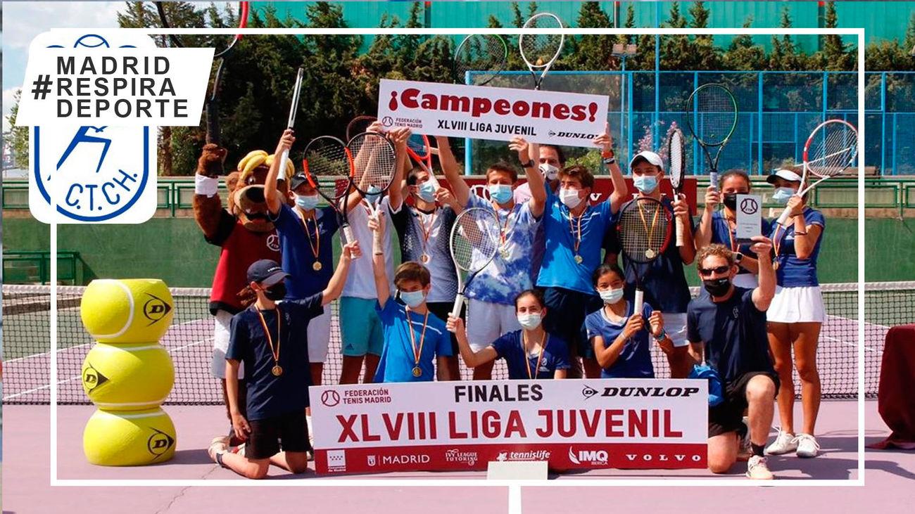 El Club de Tenis Chamartín, campeón de la Liga Juvenil
