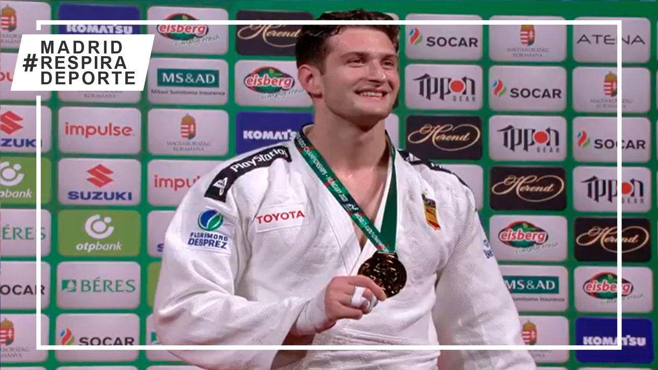 El madrileño de Brunete Sherazadishvili, bicampeón del mundo de judo