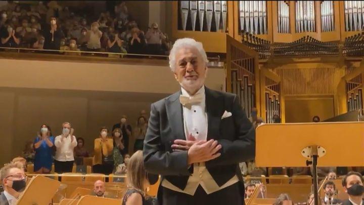 Plácido Domingo, de la ovación en el Auditorio Nacional a los aplausos y críticas en redes sociales
