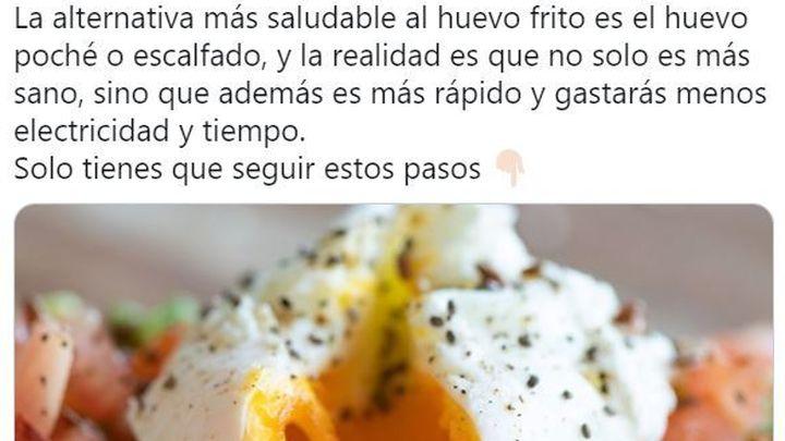 La nueva factura de la luz, cómo hacer unos huevos... e indignación en redes sociales