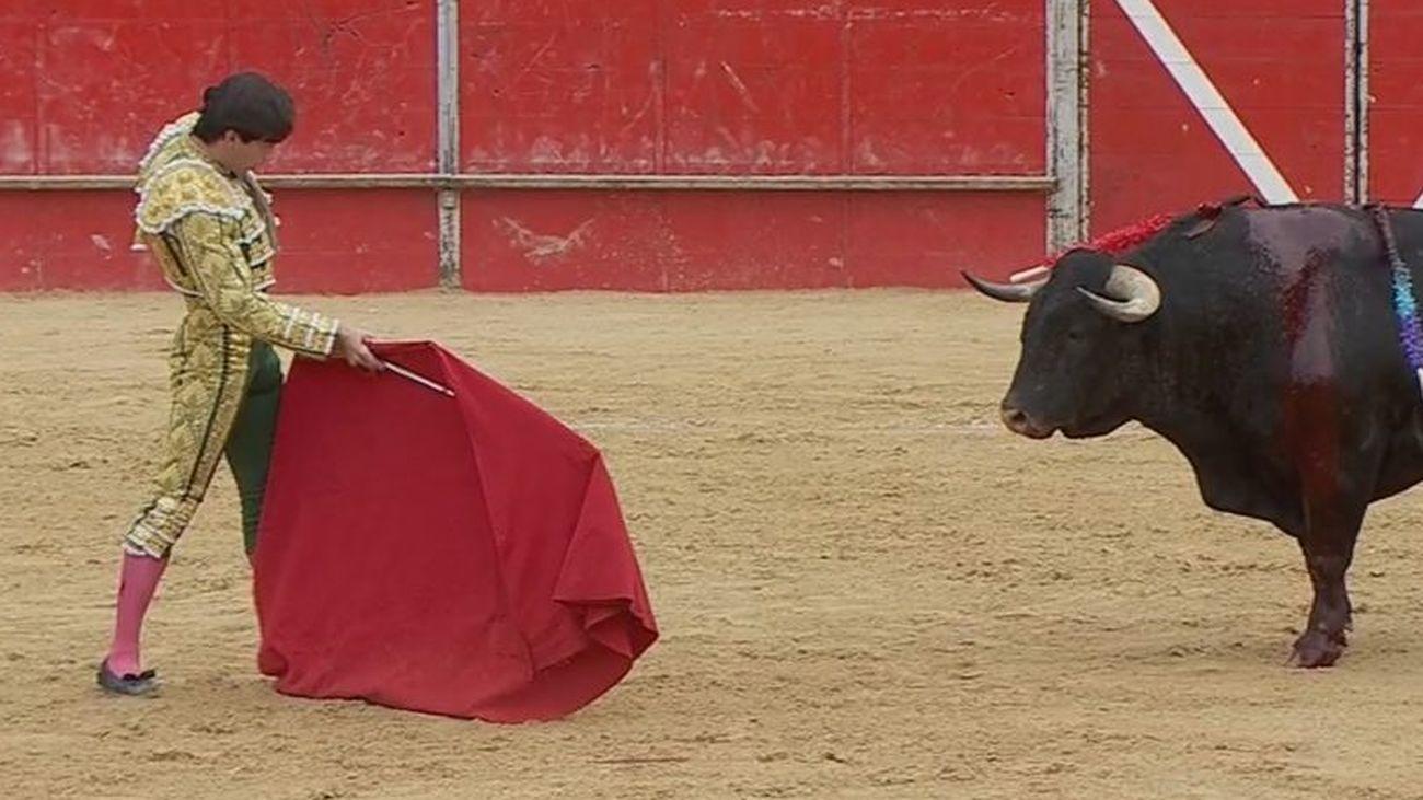 Imagen de archivo de una corrida taurina