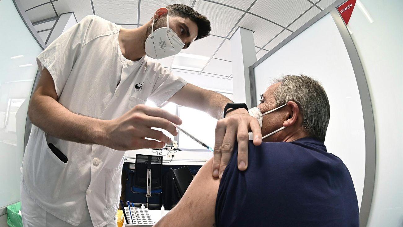 Vacunación en Madrid