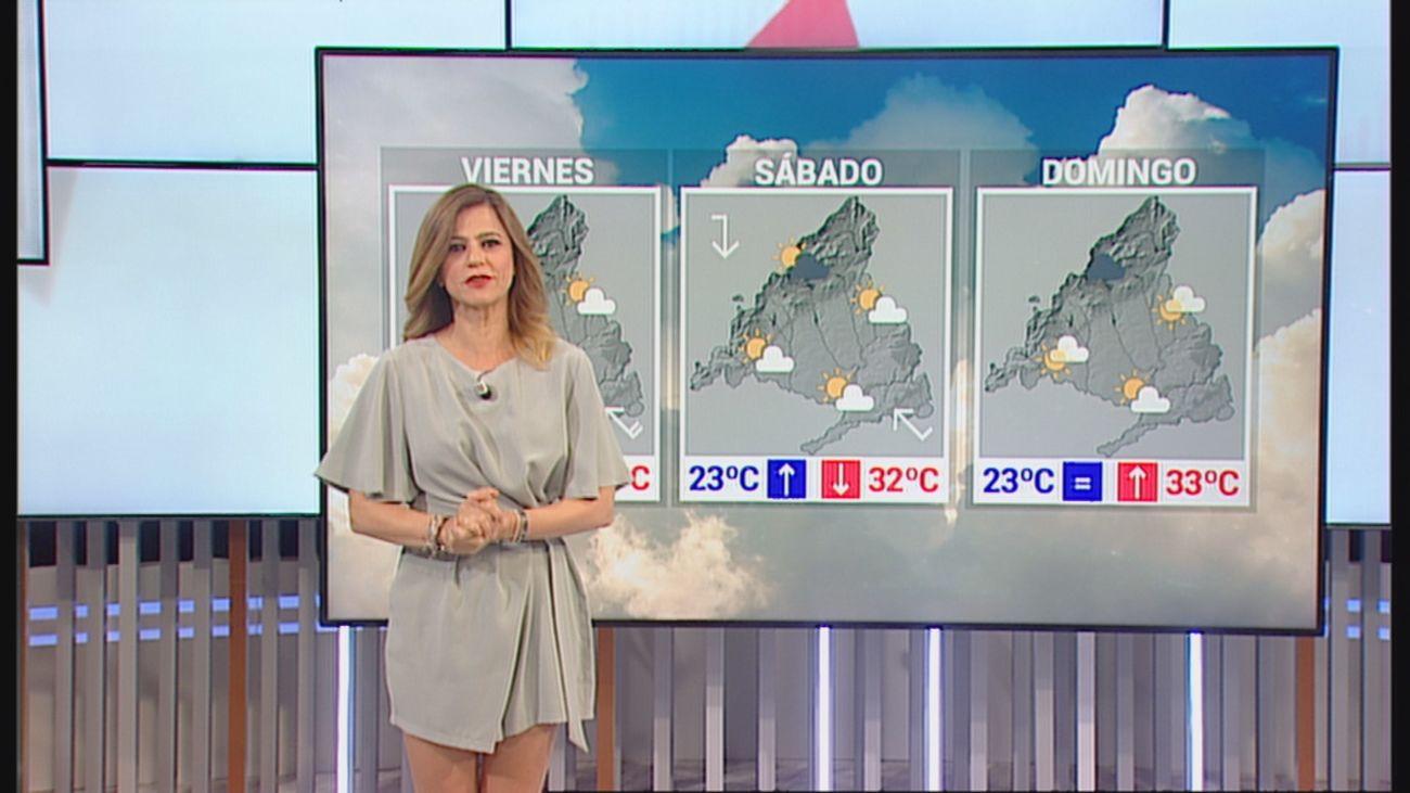 Noches tropicales y tormentas este fin de semana en Madrid