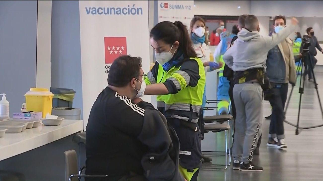 Campaña de vacunación contra la Covid-19 en Madrid