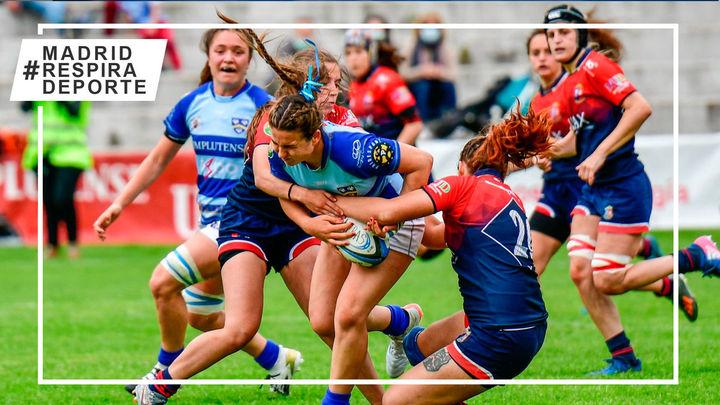 Majadahonda y Complutense Cisneros se juegan la Liga de rugby femenino