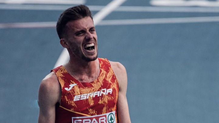 """Carlos Mayo, mínima olímpica: """"Creo que aún no he llegado al límite"""""""