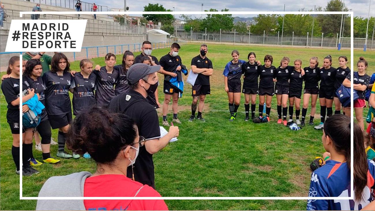 Rugby femenino sub'14 y sub'16