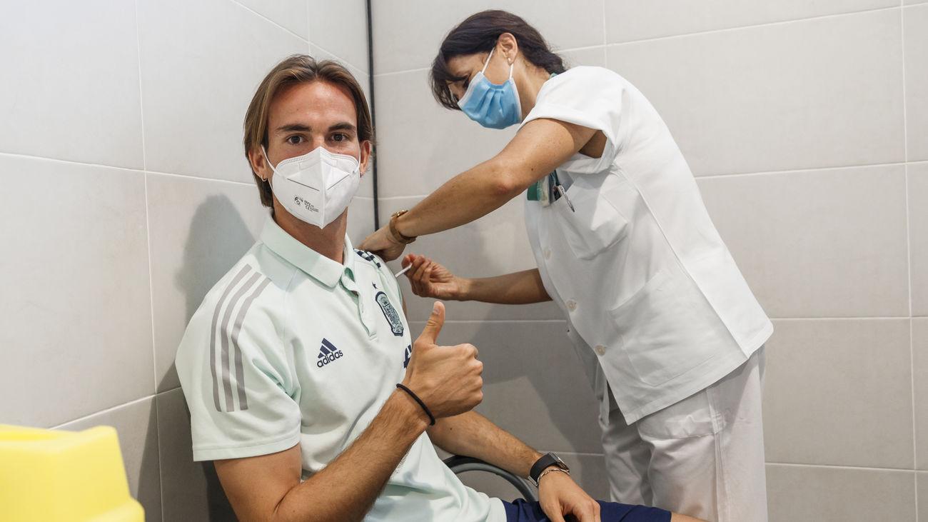 La Selección española ya está vacunada contra el coronavirus