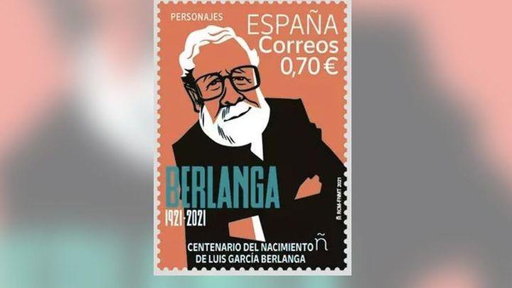 Correos emite 160.000 sellos dedicados al centenario de Berlanga